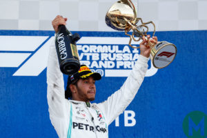 Lewis Hamilton won the 2019 Russian F1 GP