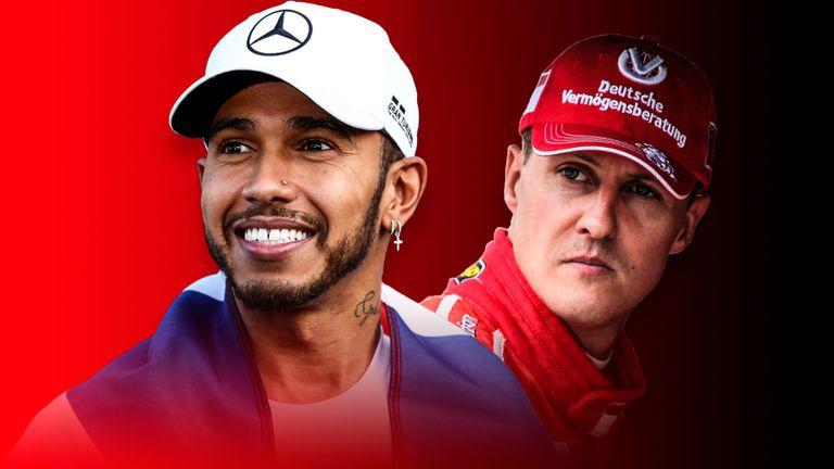 Lewis Hamilton vs Michael Schumacher