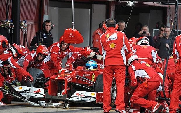 Ferrari F1 Team-photogalery-1