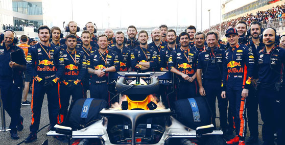Drivers in Red Bull