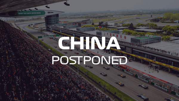 Chinese Grand Prix 2020 Event Cancelled Due To Coronavirus